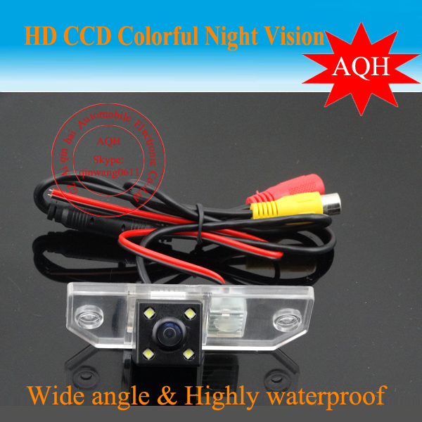 "Free shipping CCD 1/3"" Car Rear view Parking Back Up Reversing Camera For Ford- Focus Sedan (2) (3)/08/10 Night vision(China (Mainland))"