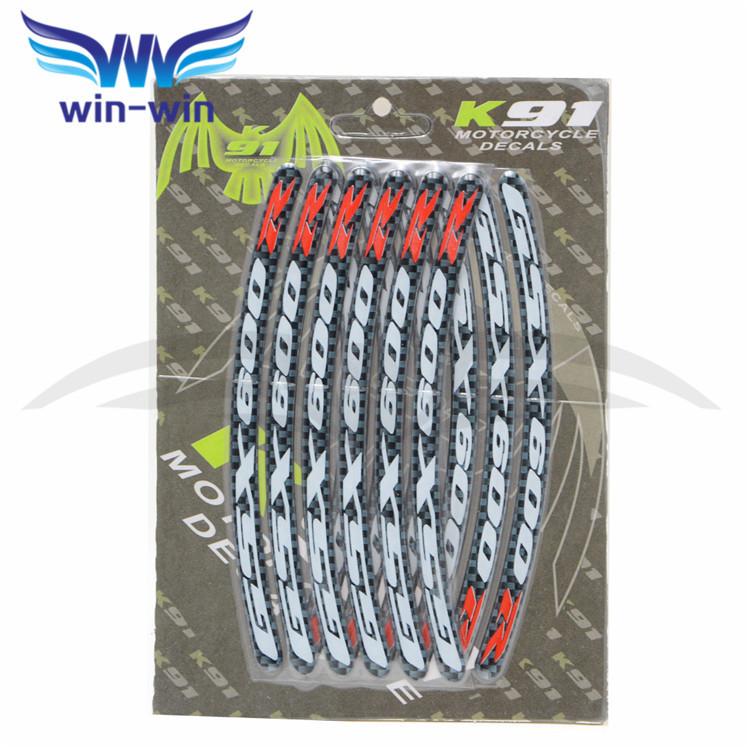 Rim Sticker Design Motorcycle Wheel Rim Sticker
