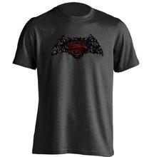Batman VS Superman Mashup Mens & Womens Printing T Shirt - YeeNoke store