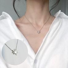Mode minuscule Dainty colliers pour femmes bijoux multicouche lune étoile pendentifs argent couleur Choker croix ethnique petite amie cadeau(China)