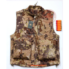 Kryptek Nomad Tactical Hunting Vest / all weather outdoor Combat Vest/Nomad Vest(China (Mainland))