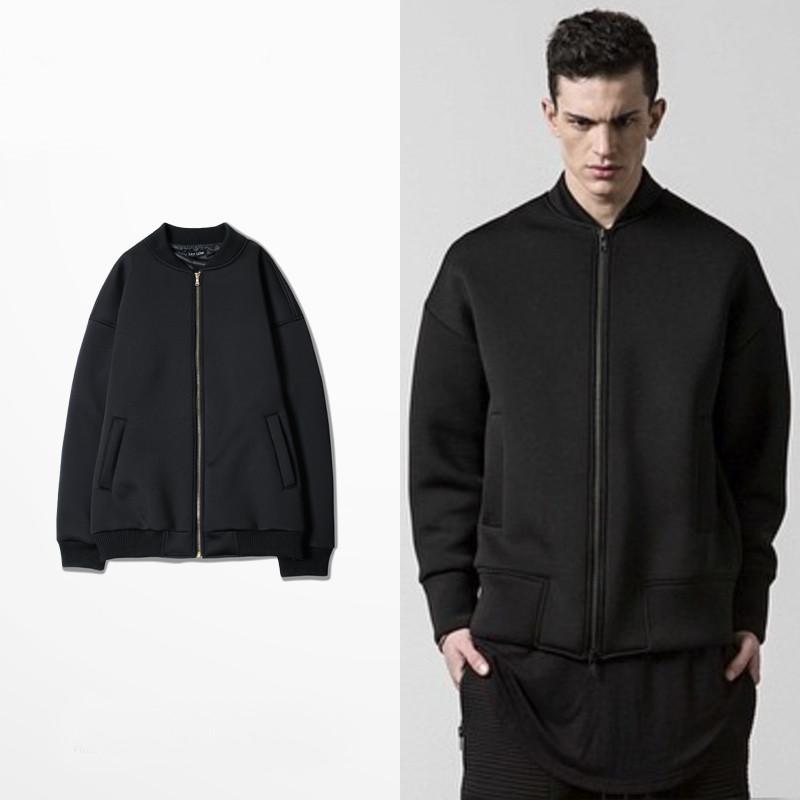 Aliexpress.com  Buy New Fashion Men Swag Black Baseball Jackets Winter Outerwear College Hip ...