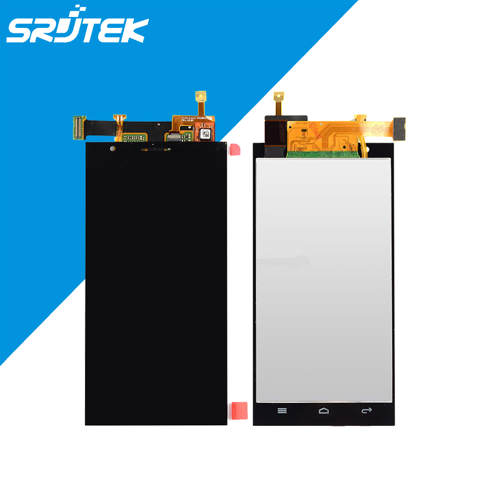 Black Huawei Ascend P2 LCD Screen Display Touch Screen Digitizer Assembly Free