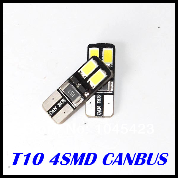 10x LED White T10 led canbus 168 194 W5W Wedge 4 SMD 5730 5630 Light bulb CANBUS ERROR FREE - Sun Optoelectronic store