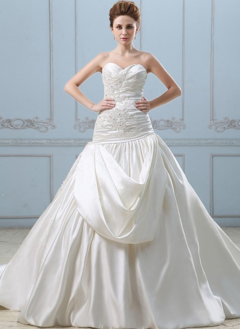 Luxury Pick Up Wedding Dress Pictures - All Wedding Dresses ...