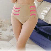 Women High Waist Solid Body Shaper Panties Postpartum Tummy Waist Trainer Corsets Underwear Hot L4