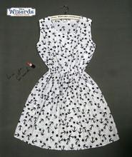 Summer Dress 2016 Casual Sleeveless Women Dress Beach Vestidos O-Neck Dresses Mini Party Bohemian Floral Dress(China (Mainland))