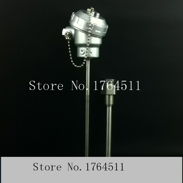 [BELLA] PT100 temperature sensor with high accuracy temperature measurement stick armored probes can be customized --2pcs/lot(China (Mainland))