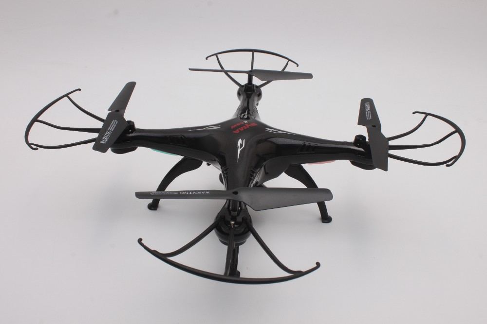X5SW black rc quadcopter
