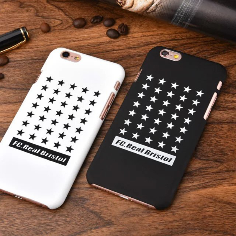 Fashion Brand FC.Real Bristol PC Star Case For iPhone 6 6S 6 Plus Case Cover Capa Para Coque Hard Back Cover(China (Mainland))