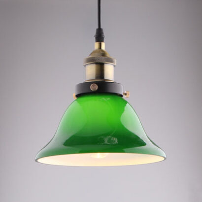 American Country Vintage Loft Lamp Creative Cafe Bar Table Green Glass Pendant Light Restaurant Bedroom Retro Pendant Lamp(China (Mainland))