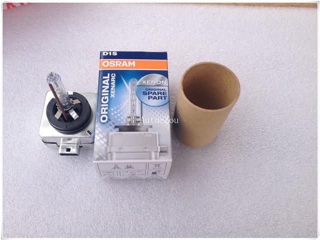 100% Genuine!!!Auto Parts Hid Xenon Bulb Lamp Light Lighting Car Headlight Osram Package D1S 66144 12V 35W 4300K(China (Mainland))