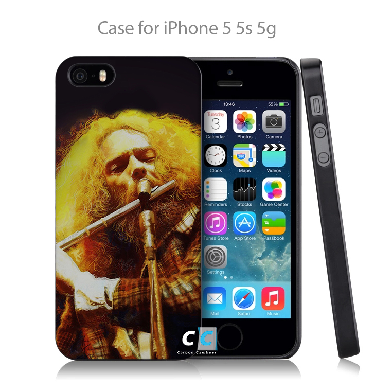 ac17 jethro tull live at madison square Hard Black Case Cover Shell Coque for iPhone 4 4s 4g 5 5s 5g 5c 6 6g 6 Plus(China (Mainland))