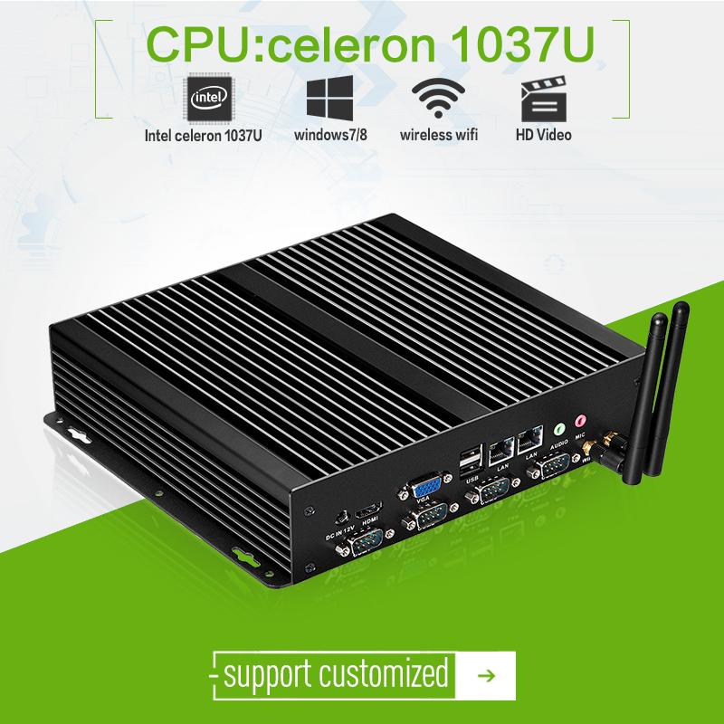 high-capacity ! Dual core of C1037U arm mini computer, with 2G RAM 500G HDD XCY X26-1037G slim pc with wifi mini pc(China (Mainland))