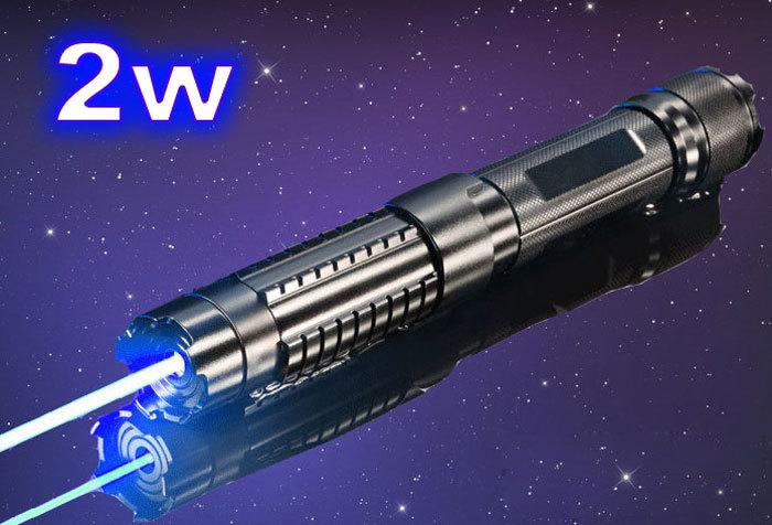 Aliexpress Com Buy 2 W Military Blue Laser Pointer Pen