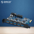 ORICO Desktop 5 Port USB3 0 PCI Express Card Expansion Card for Laptop Support Windows 10