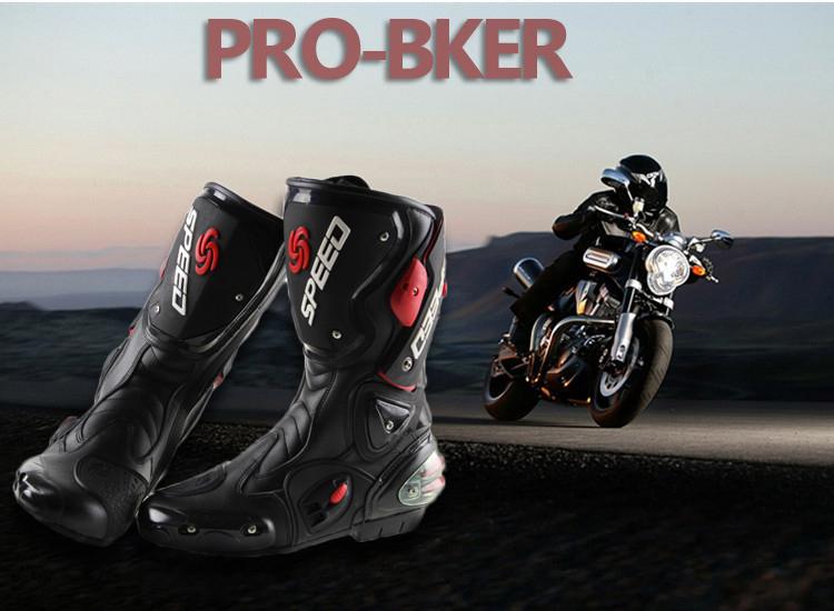 2014 New Motorcycle Boots PRO-BIKER SPEED BIKERS Racing Riding