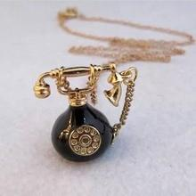 N167  Free Shipping,Vintage Alloy Telephone Pendant Necklaces Sweater Chains  Wholesale(China (Mainland))