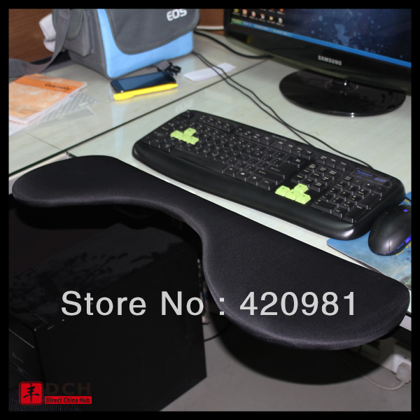 Mousepad Mount on chair for wireless mouse Ergonomic chairs with comfortable seats arm rests
