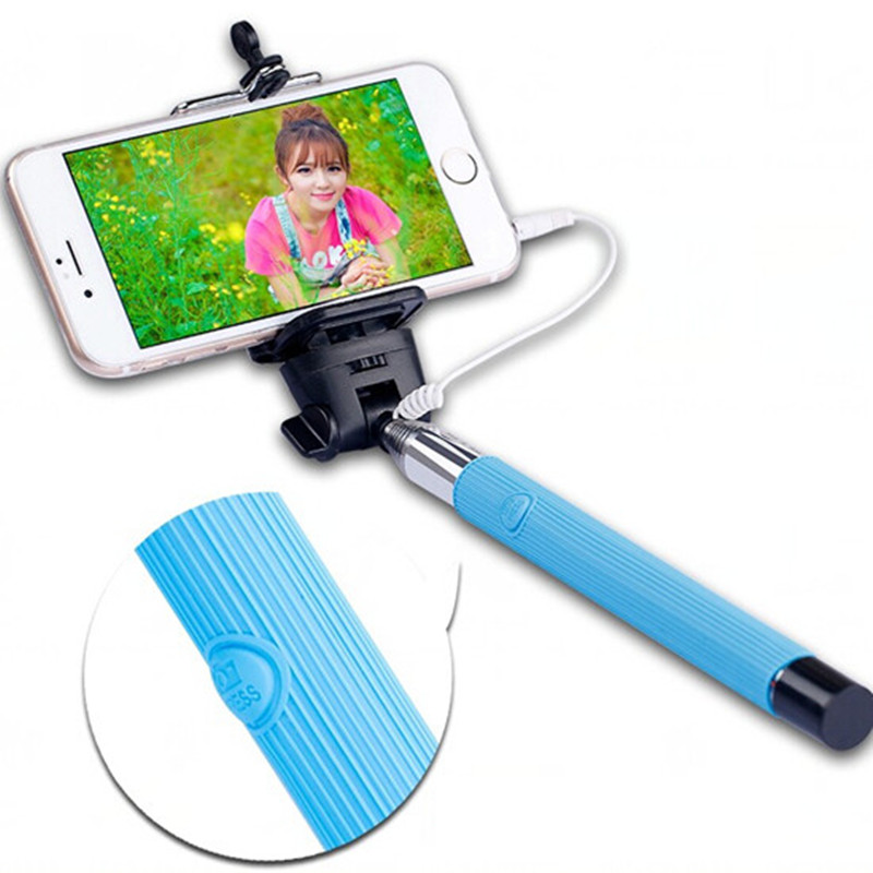 universal selfie stick monopod for iphone 6 6s plus 5s se 4s palo selfie gopr. Black Bedroom Furniture Sets. Home Design Ideas