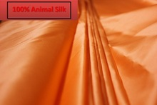 100% pure mulberry Hard Silk fabrics Solid Color Silk satin organza Coat Skirt Scarf dressmaking materials yards I331-(China (Mainland))