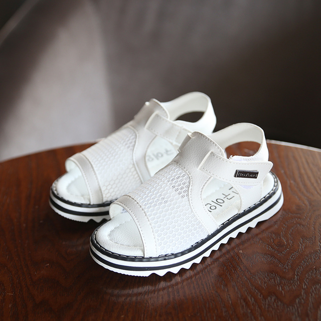 Девушки Сандалии Детей Принцесса Обувь для Девочек Обувь для Девочек Сандалии T2016 Летний Новый С Открытым Носком Сандалии Сетки Детская Обувь