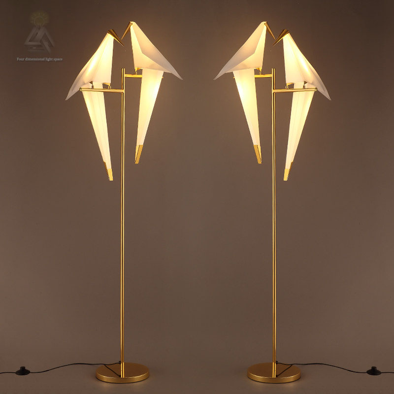 Popular bird floor lamp buy cheap bird floor lamp lots for White floor lamp with birds