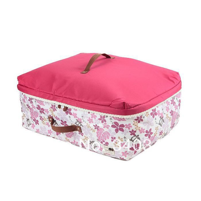 """90L SIZE XL Soft storage bag/box/bin for quilt & clothes & household articles """"Maple Leaf"""" series(China (Mainland))"""