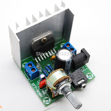 AC/DC12V TDA7297 Rev A Low Noise Audio Amplifier Board 2*15W Dual-Channel Digital Stereo free shipping(China (Mainland))