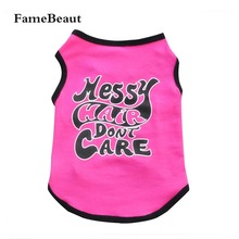 Buy Pet Dog Clothes Coat Pet T-Shirt Dog Clothing Season Breathable Cozy Pet Clothes Clothes Dogs Vest for $2.47 in AliExpress store
