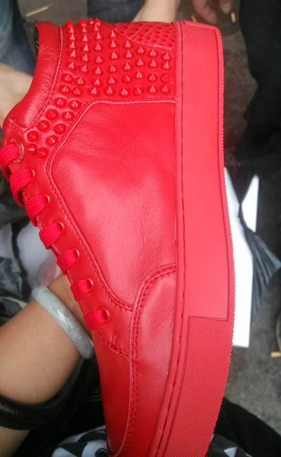 royaums shoes royaums kilian red men sneaker top quality with box and card dustbag free shipping(China (Mainland))