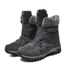 EOFK Winter Frauen Stiefel Frau Dame Echtes Leder Warme Flache Plattform Fell Wasserdichte Schnee Turnschuhe Plüsch Mode Casual Stiefel(China)
