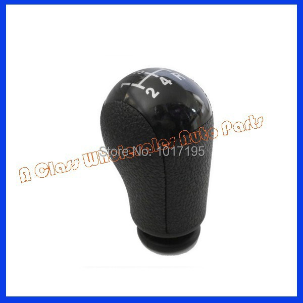 Free Shipping Car Shift Gear Knob Black For Ford Focus Mk2 Mondeo Mk3 Fiesta MK6 Mustang Car Accessories(China (Mainland))
