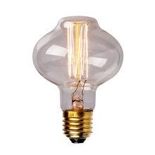 Incandescent Bulbs Edison Bulb Straight Tungsten Lamp Retro Edison Home Decor E27 Light Bulb 40W 110V/220V Free Ship L85Straight(China (Mainland))