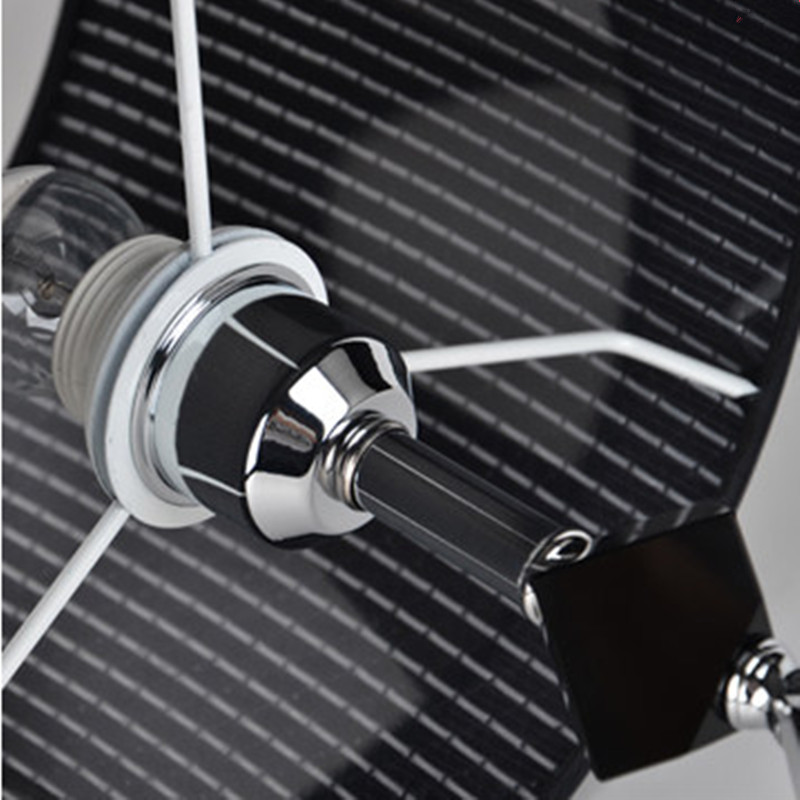 Aliexpress.com: comprar 2016 nueva cristal negro lámpara de mesa ...