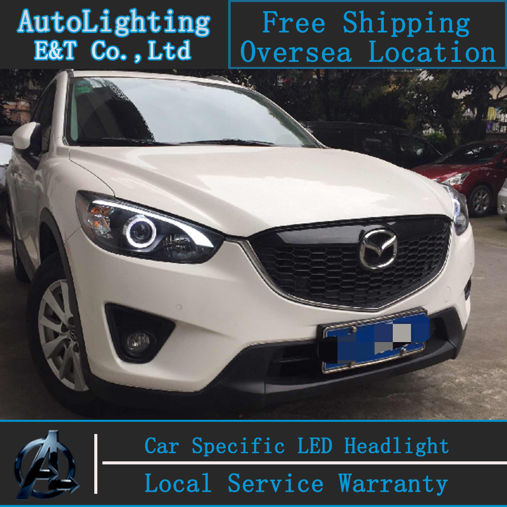 car styling mazda cx 5 headlights 2011 2014 cx5 led. Black Bedroom Furniture Sets. Home Design Ideas