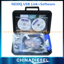 DHL Drop Ship 24V Heavy Duty NEXIQ Usb Link 125032 Interface Adapter with Software Diagnose font