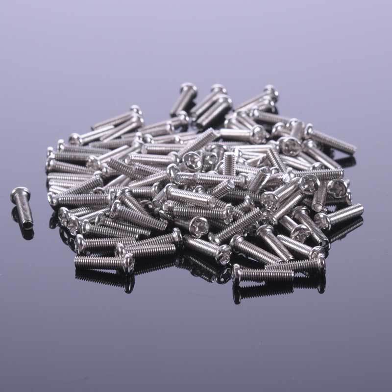 500 pcs M2 x 8mm Philips Head Screw,FASTENER,MODEL HARDWAE(China (Mainland))
