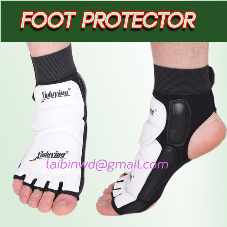 Adult&child Taekwondo & Karate Foot Protector Ankle Support fighting foot guard Kickboxing boot WTF approved Ankle Brace Support(China (Mainland))