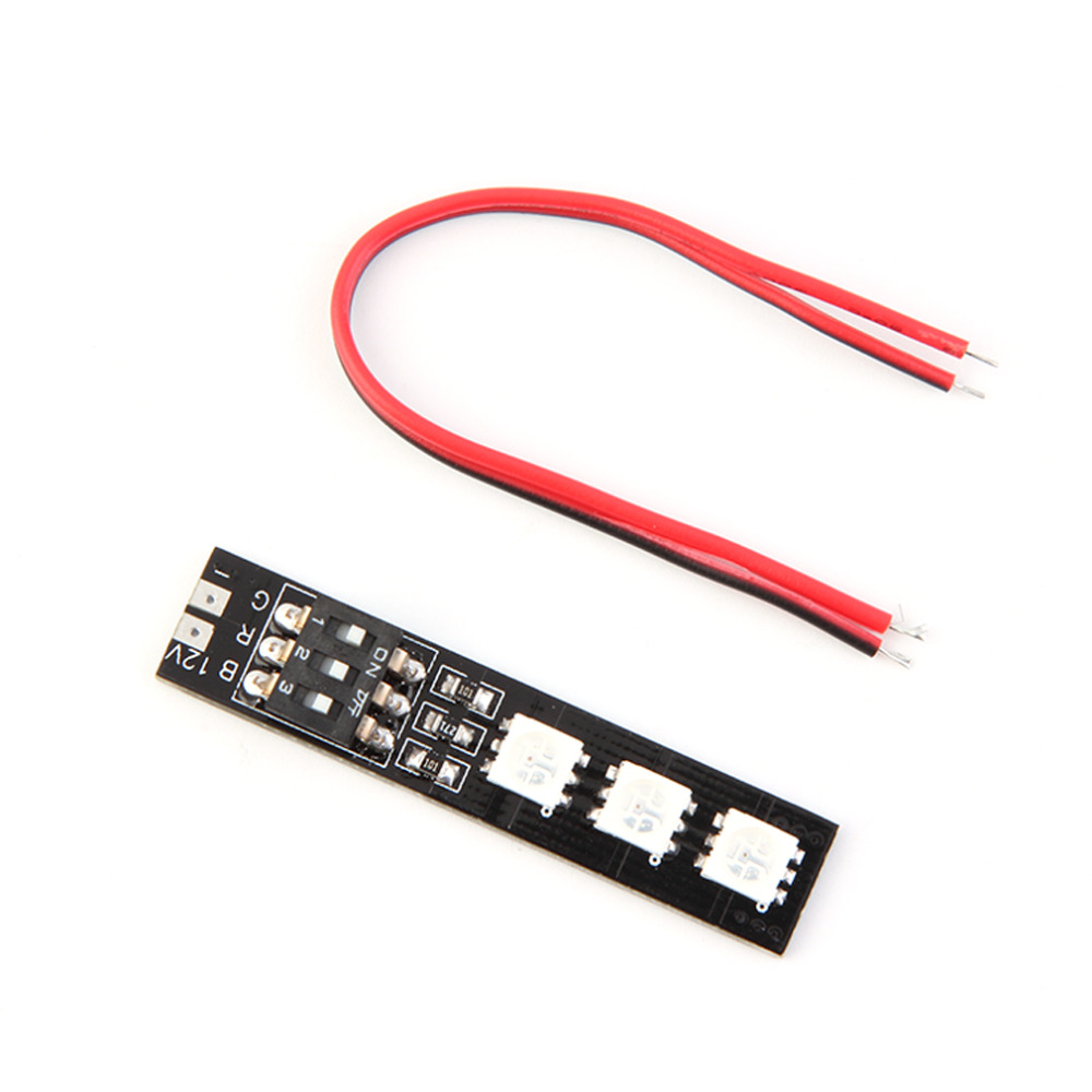 DIY RGB 5050 LED Board 12V Light Board 7 Color For FPV Helicopter Multi-axes for across the machine Cars and other light DIY<br><br>Aliexpress