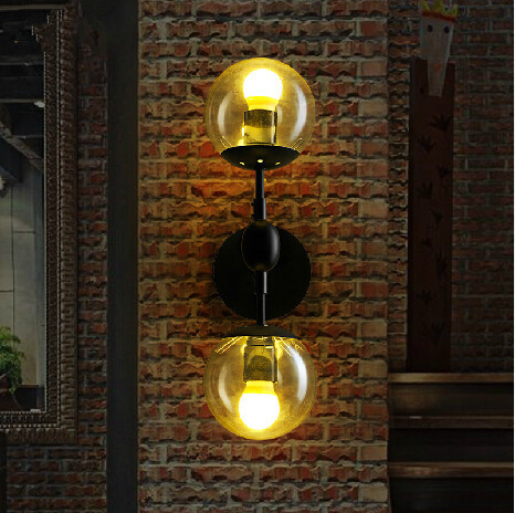 Vintage Bedroom Wall Lamps : Aliexpress.com : Buy Modern Magie Glass Ball Wall Lamps Vintage Wall Lights Bedroom Bedside Wall ...