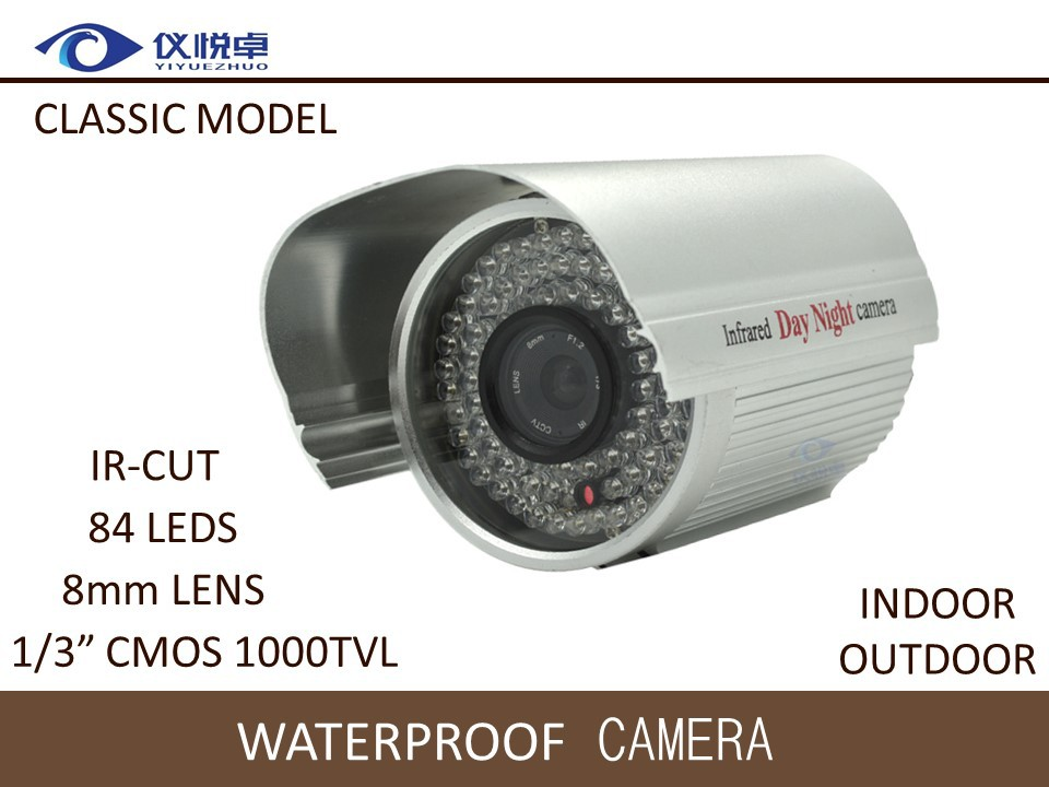 Security Camera CMOS 1000TVL HD CCTV Camera Waterproof Night Vision 84 Infrared Led IR  Bullet DVR Surveillance Camera WC134-10<br><br>Aliexpress