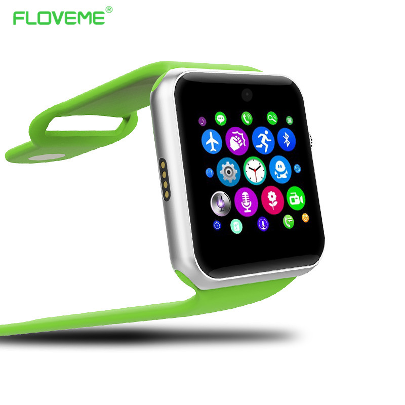 Floveme K3 Smart Watch Clock HD Screen SIM Card Wearable Devices Life SmartWatch Soft Slica Watchband For Iphone Samsung Android(China (Mainland))
