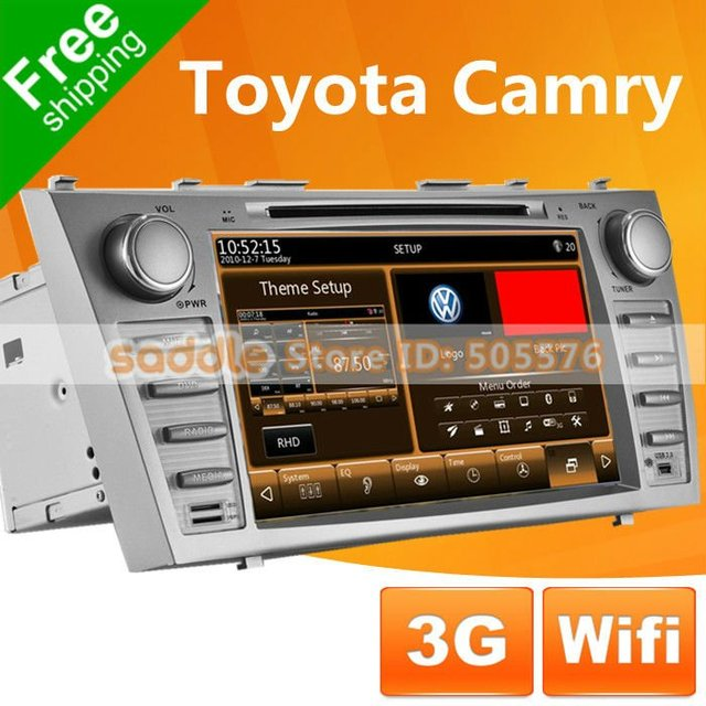 "8"" TOYOTA CAMRY Car DVD Player with GPS Navigation TV Wifi 3G 1080P MP5 RDS iPod Bluetooth WinCE 6.0 ... TOYOTA CAMRY Car PC !"