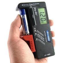 Universal balanzas electrónicas portátil batería Volt Tester 1.5 V AA AAA CD 9 V baterías envío gratis