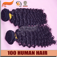 Grade 7A Unprocessed Mongolian virgin hair curly 4pcs/lot 8-30inch remy human hair weaves 100% natural black hair extensions