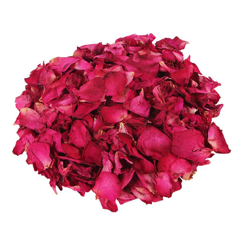 500g /Bag 100% Natrual Rose Petals Whitening Bubble Bath Relieve Stress+Clean Skin Enjoying Foot Spa Massager SPA Aromatherapy(China (Mainland))
