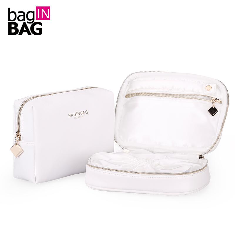 New 2016 Cosmetic bag Jewelry Storage Bag Set Travel Organizer Makeup Bags Wholesale Makeup Bags(China (Mainland))
