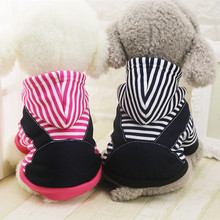 Buy Warm Winter Pet Dog Clothes Small Medium Large Dogs Coat Jacket Hoodie Sweatshirt Stripe Puppy Chihuahua Costume Clothing XS-5XL for $2.97 in AliExpress store