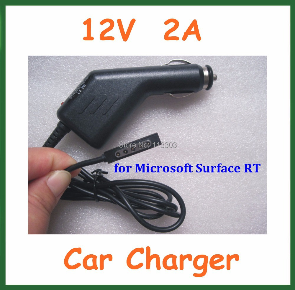 12V 2A Car Charger Microsoft Surface RT 10.6 Tablet PC Power Supply Adapter - Doldol (HK store Co., Ltd)